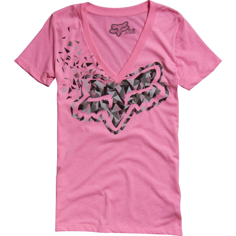 best place online for sale classic styles apparel-fox-racing-casual-shirts-girls-short-sleeve-explosive ...