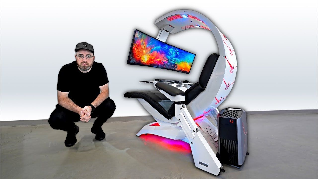The Most Insane Workstation Gaming Setup Unbox Therapy