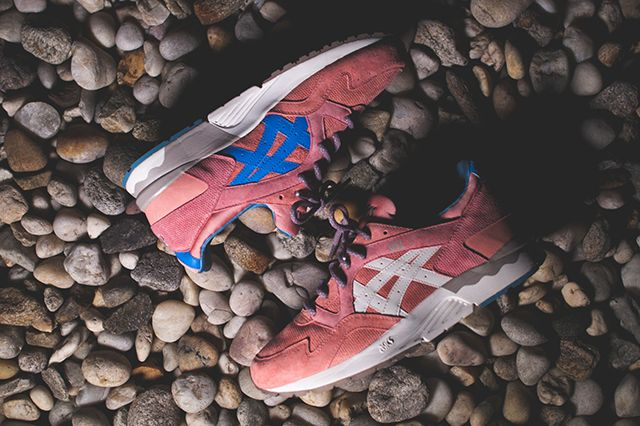 ronnie fieg x asics gel lyte v rose gold