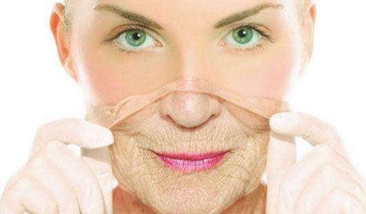 Resultado de imagen para piel vieja y piel joven