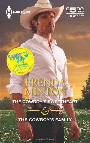 Brenda Minton - The Cowboy's Sweetheart & The Cowboy's Family / #awordfromJoJo #ContemporaryRomance #JillianHart