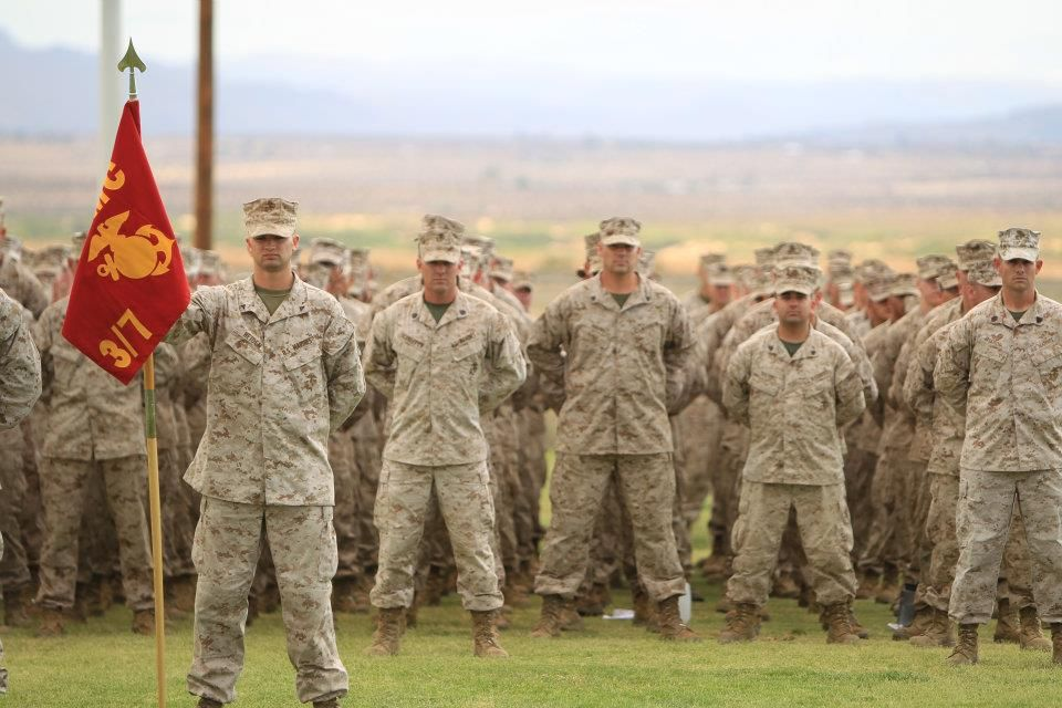 Seven Marines With 3rd Battalion 7th Marine Regiment Received Awards And Two Others Promoted During A Ceremony Held At Purple Heart Medal 7 Marine My Marine
