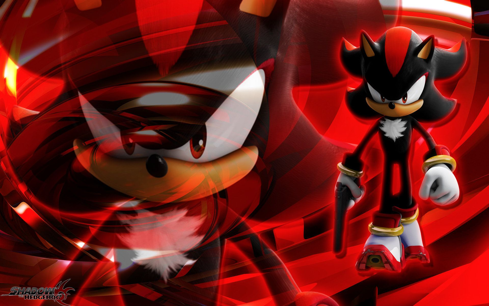 Shadow The Hedgehog Wallpaper By Sonicthehedgehogbg On Deviantart Shadow The Hedgehog Sonic Wallpaper Backgrounds
