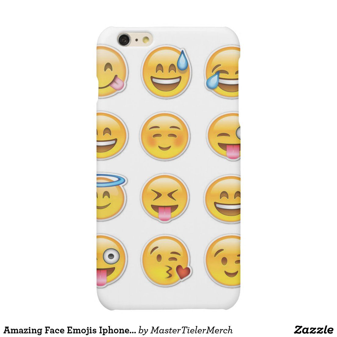 Amazing Face Emojis Iphone 6plus Case Zazzle Com Iphone 6 Plus Case Emoji Phone Cases Case