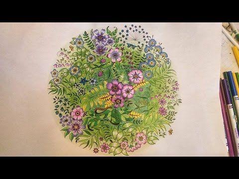 How To Color Secret Garden Coloring Book 2