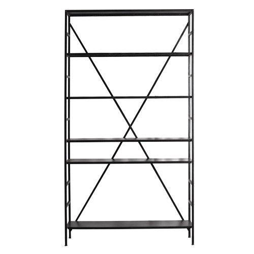 Metalen etagère met vijf planken. Deze kast is ideaal te gebruiken ...