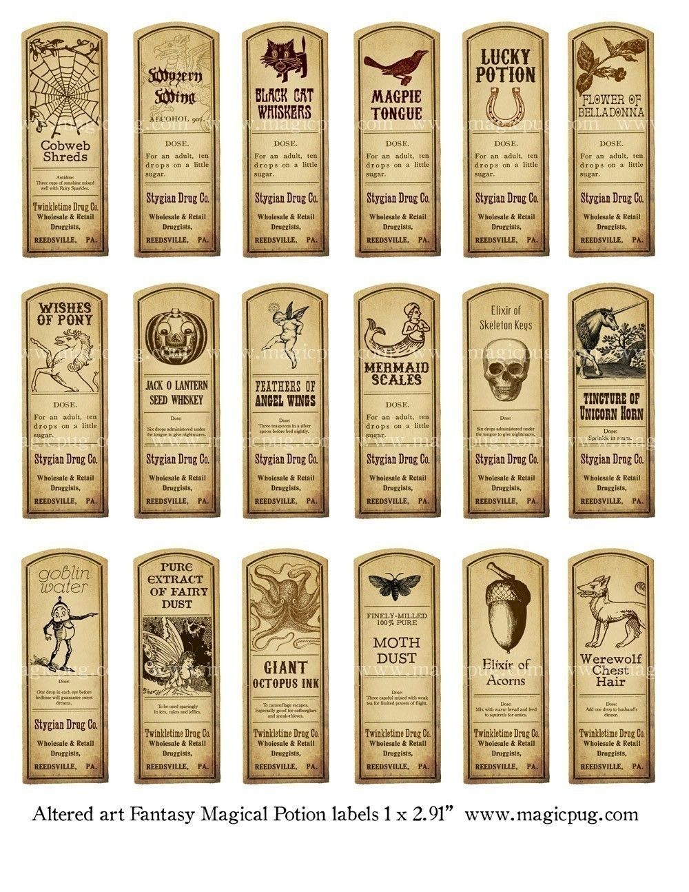 It is an image of Ambitious Harry Potter Potion Labels Printable