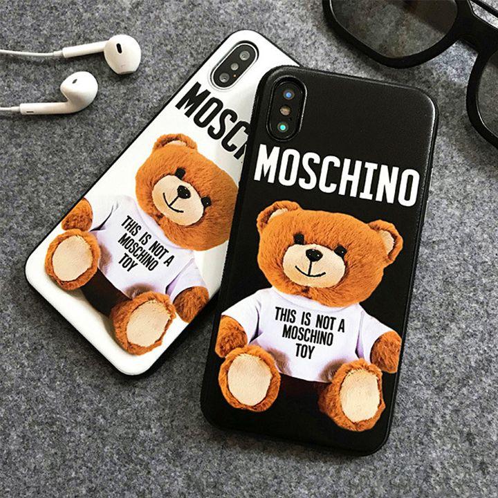 e191a5b4c0 モスキーノ iphoneXケース くま moschino iphone8 iphone7ケース 新作 ...