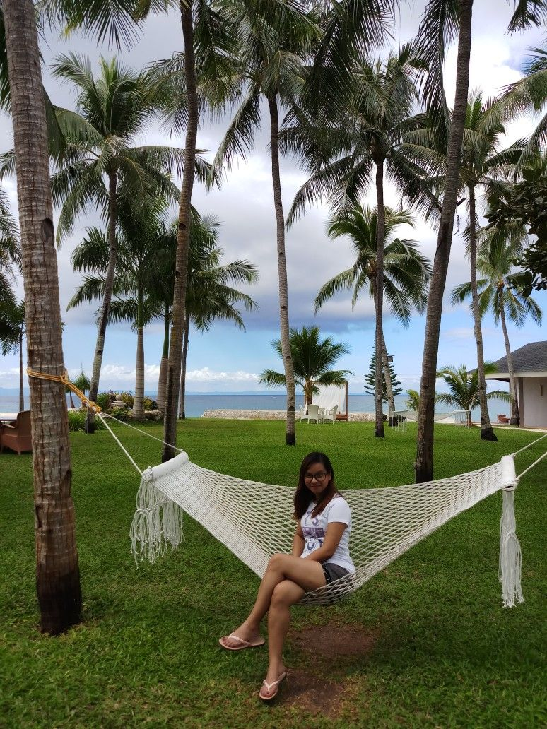 Enjoying The View In Mangodlong Beach Resort Camotes Island Cebu Philippines A Nice Place To