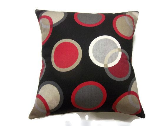 Black And White Striped Outdoor Cushions. Outdoor & Garden Outdoor Decor Patio Furniture Lighting Furnish your patio playfully with this pair of outdoor seat cushions. Featuring a black and white polka dot design, These dramatically red and black striped seat cushions would be a trendy addition to your outdoor living space.