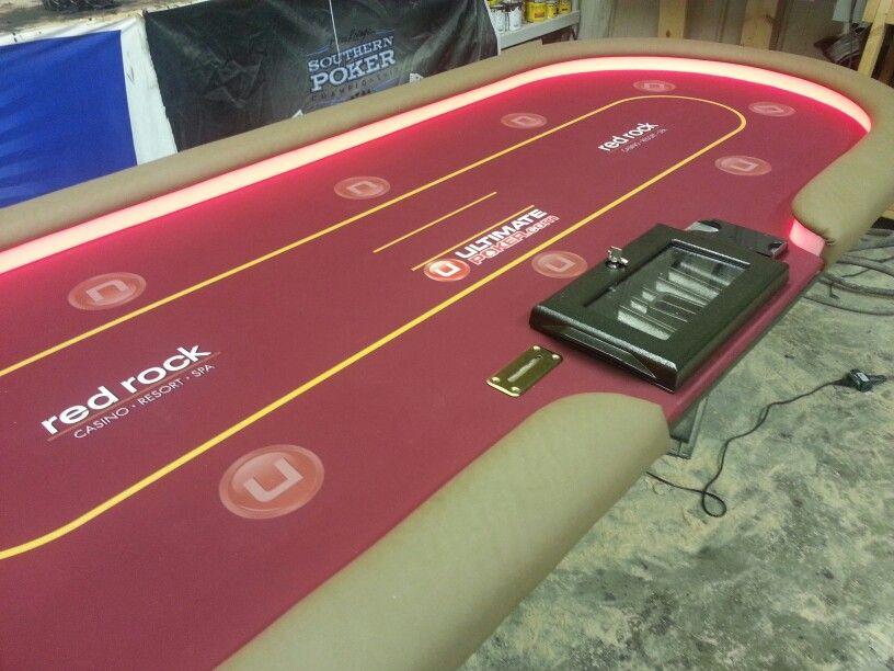 Redrock Casino Ultimatebet Rfid Poker Table Poker Room Custom Poker Tables Poker Game Tables