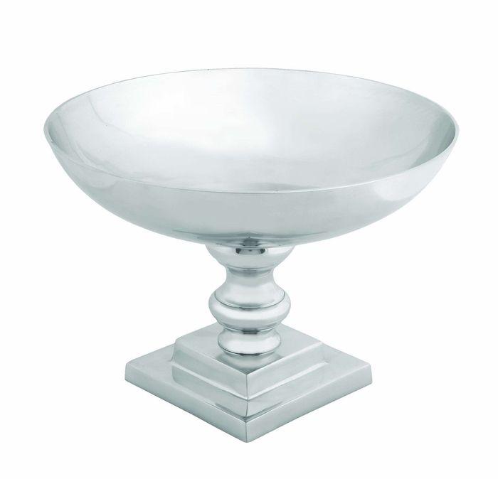 """Nouveau Style 10"""" Aluminum Metal Bowl Brand Woodland"""