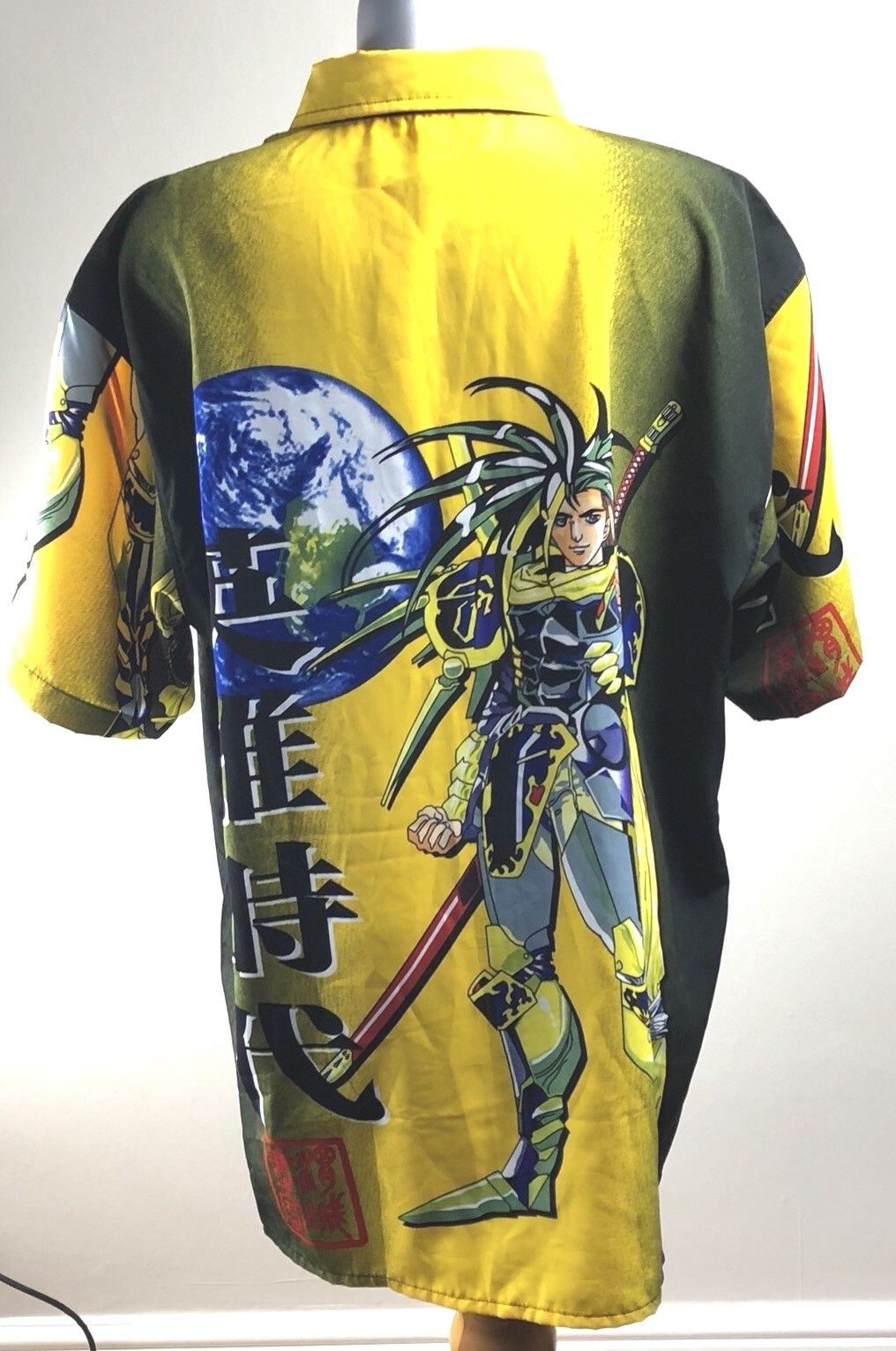 CHIC&TNK Hawaiian Shirt Men Streetwear Devil Anime