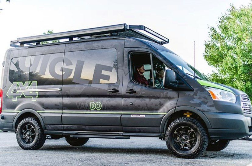 Vandoit Camper Vans With Quigley 4x4 Built On The Ford Transit In 2020 Ford Transit Sprinter Van Conversion 4x4