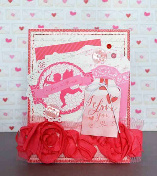 pins brown on valentine 4 u  echo park paper