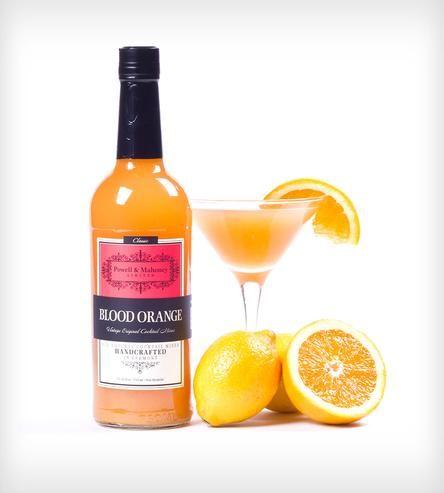 blood orange cocktail mix set of 4 blood orange cocktail beverage and food and drink. Black Bedroom Furniture Sets. Home Design Ideas