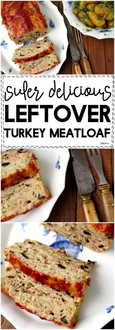 Leftover Turkey Meatloaf Recipe Turkey Meatloaf Leftover Turkey Leftover Turkey Recipes