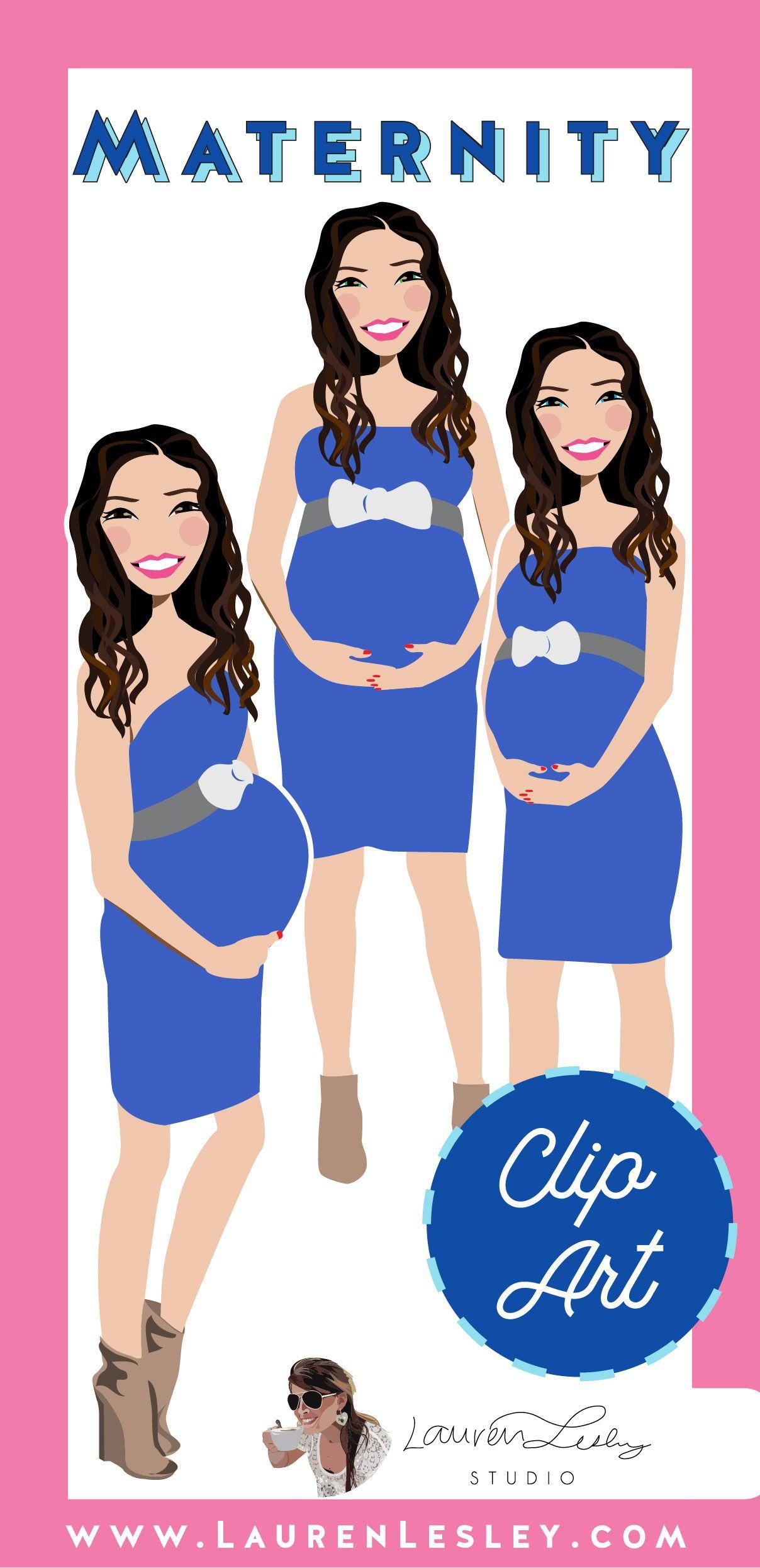 Maternity Clip Art Xioli Clip art, Maternity