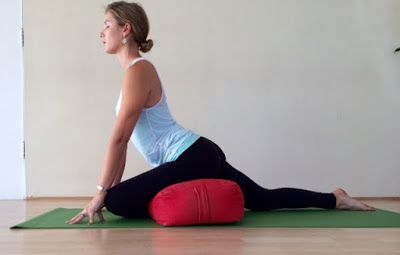 restorative pigeon  how to nap through hip stretches