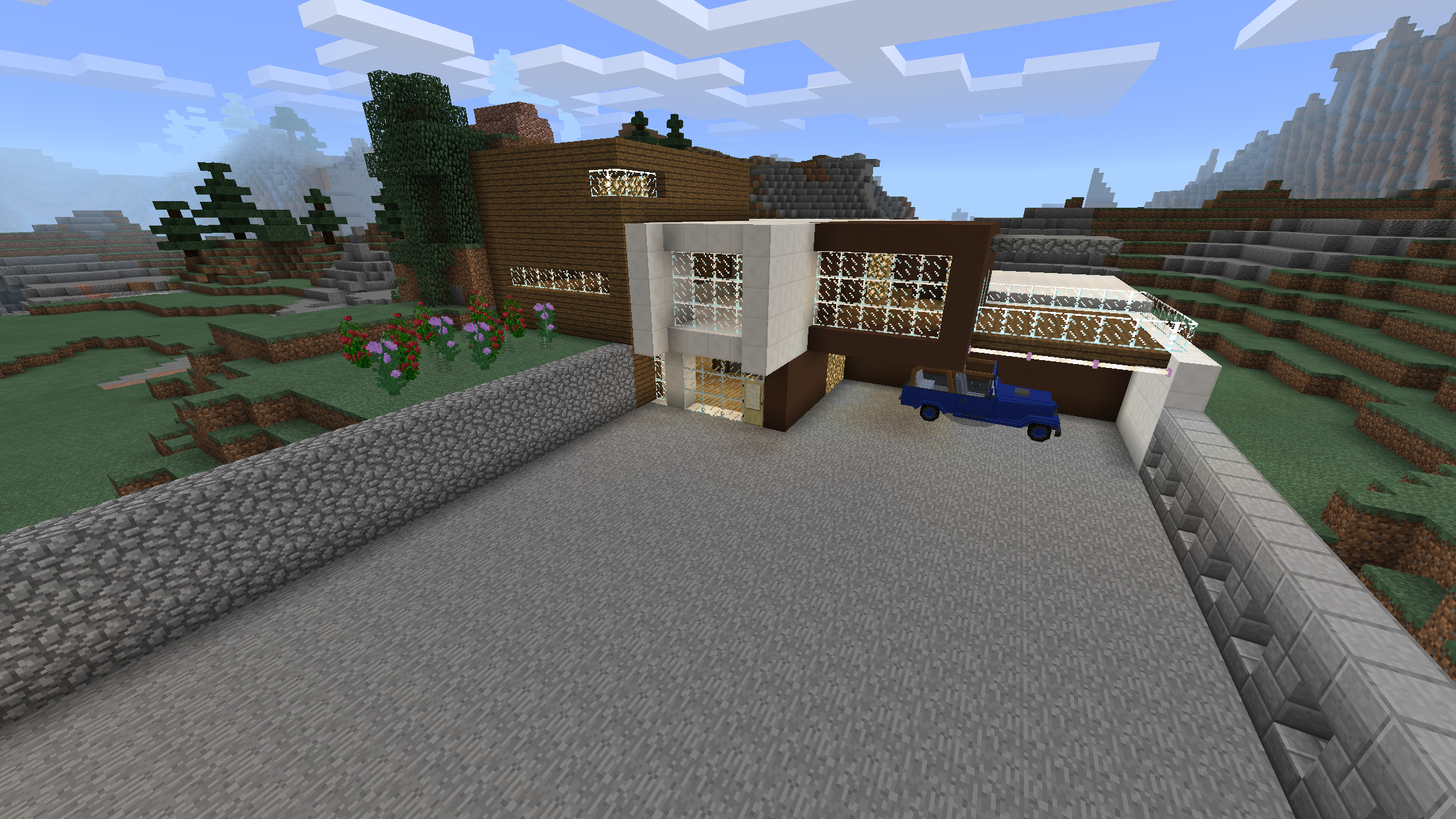 The Davenport House From Lab Rats In Minecraft Lab Rats