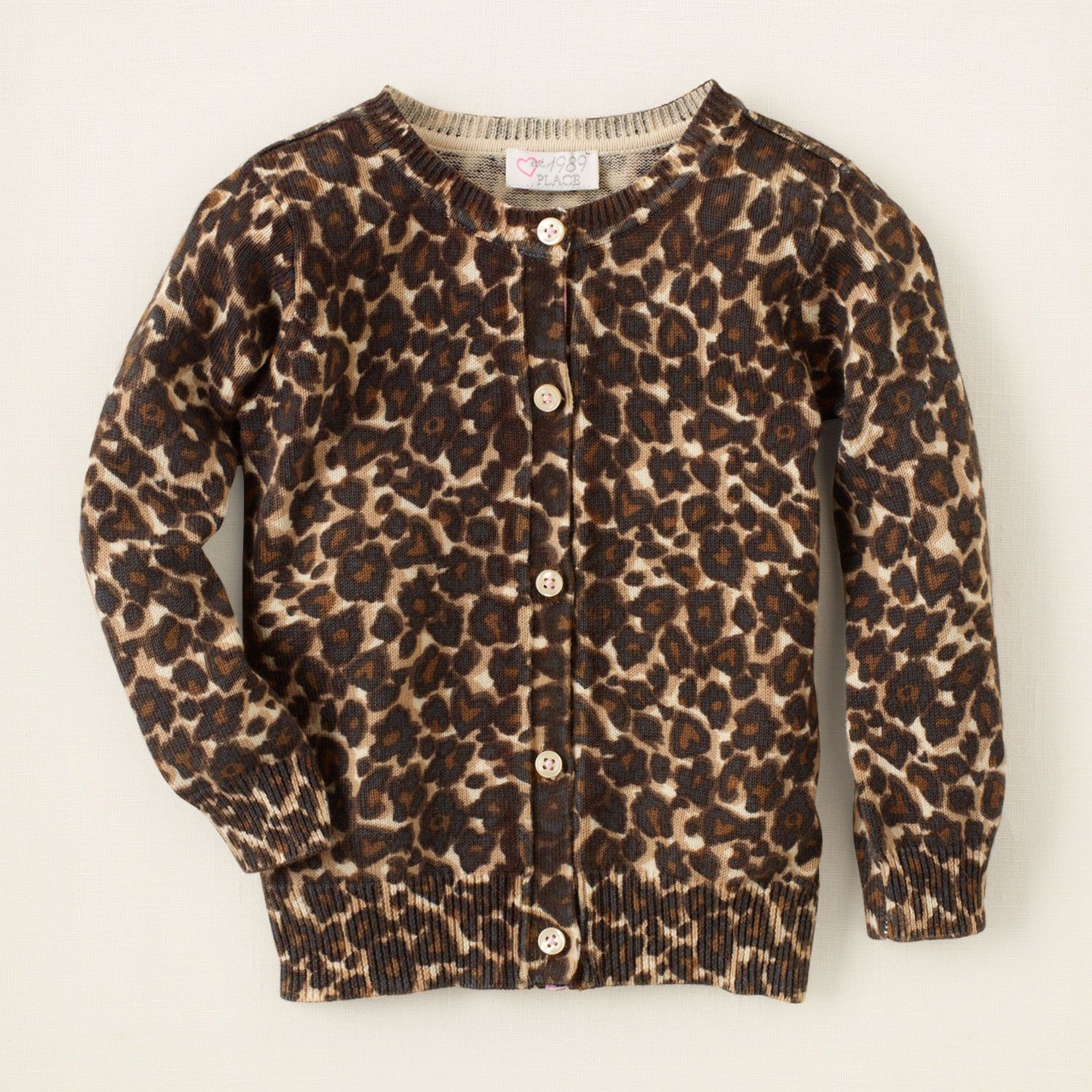 baby girl leopard cardigan sweater Children s Clothing