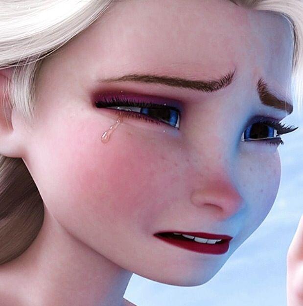 Tears on face spunk