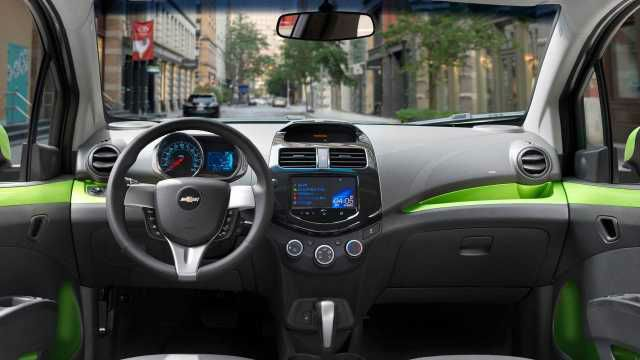 2016 Chevrolet Spark Ev Interior With Images Chevrolet Spark