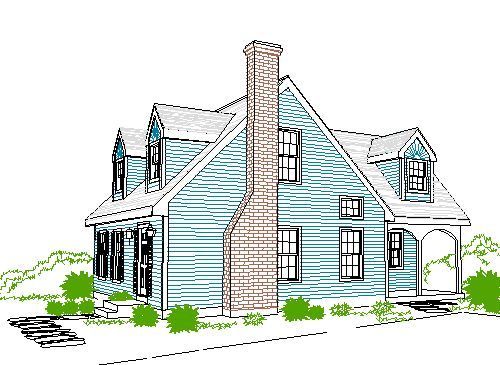Google Image Result For Http Www Cadsmith Com House Plans Cape Cod Style House Cape Cod House Cape Cod Exterior