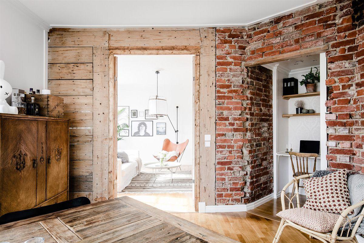 Onbewerkte Rauwe Muren : Als je dol bent op een scandinavisch interieur is dit je droomhuis