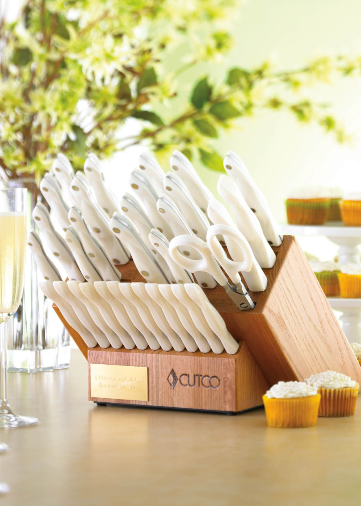 Ultimate Set With Block | 37 Pieces | Knife Block Sets By Cutco