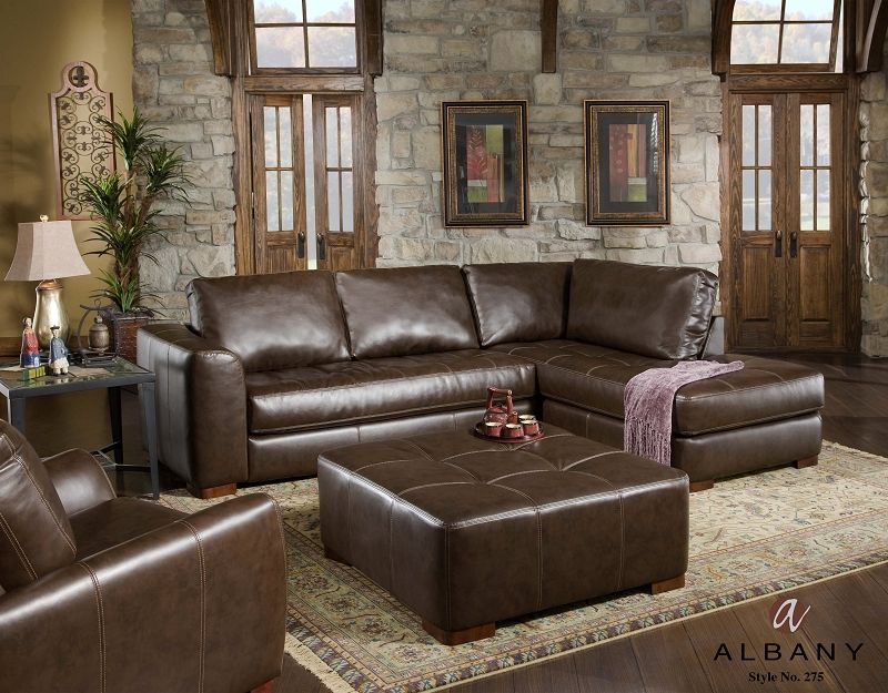 Jerome S Furniture Living Room Featuring The Cocoa Collection With Images Sectional Sofa