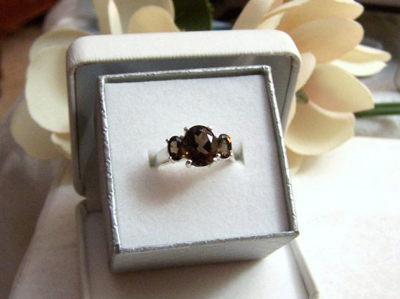 Altered Avon Ring Sterling Authentic Vintage By