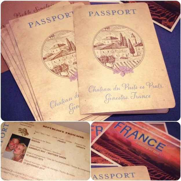 How about a passport? | All The Boho Wedding Inspiration You Could Possibly Need