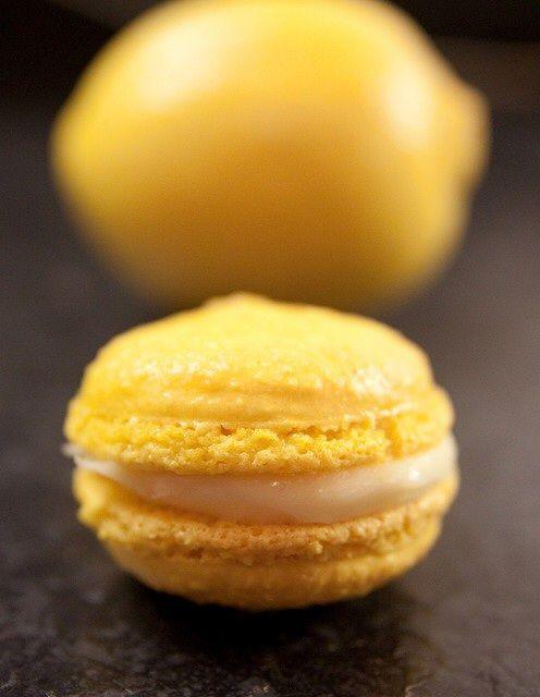 French Lemon Macarons