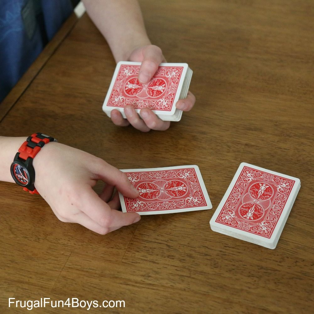 Three Awesome Card Tricks For Kids Card Tricks For Kids Magic