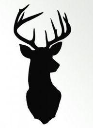 Deer stencils