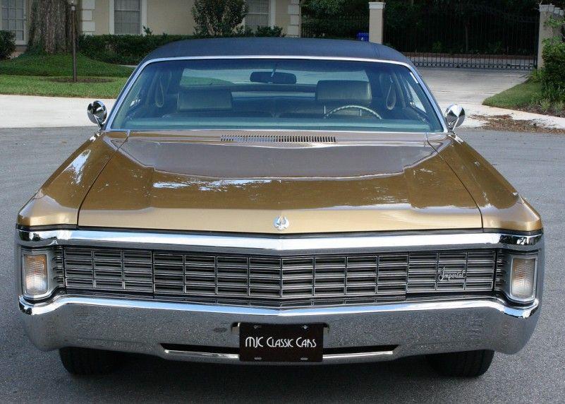 1970 Imperial Lebaron Chrysler Imperial Chrysler Lebaron