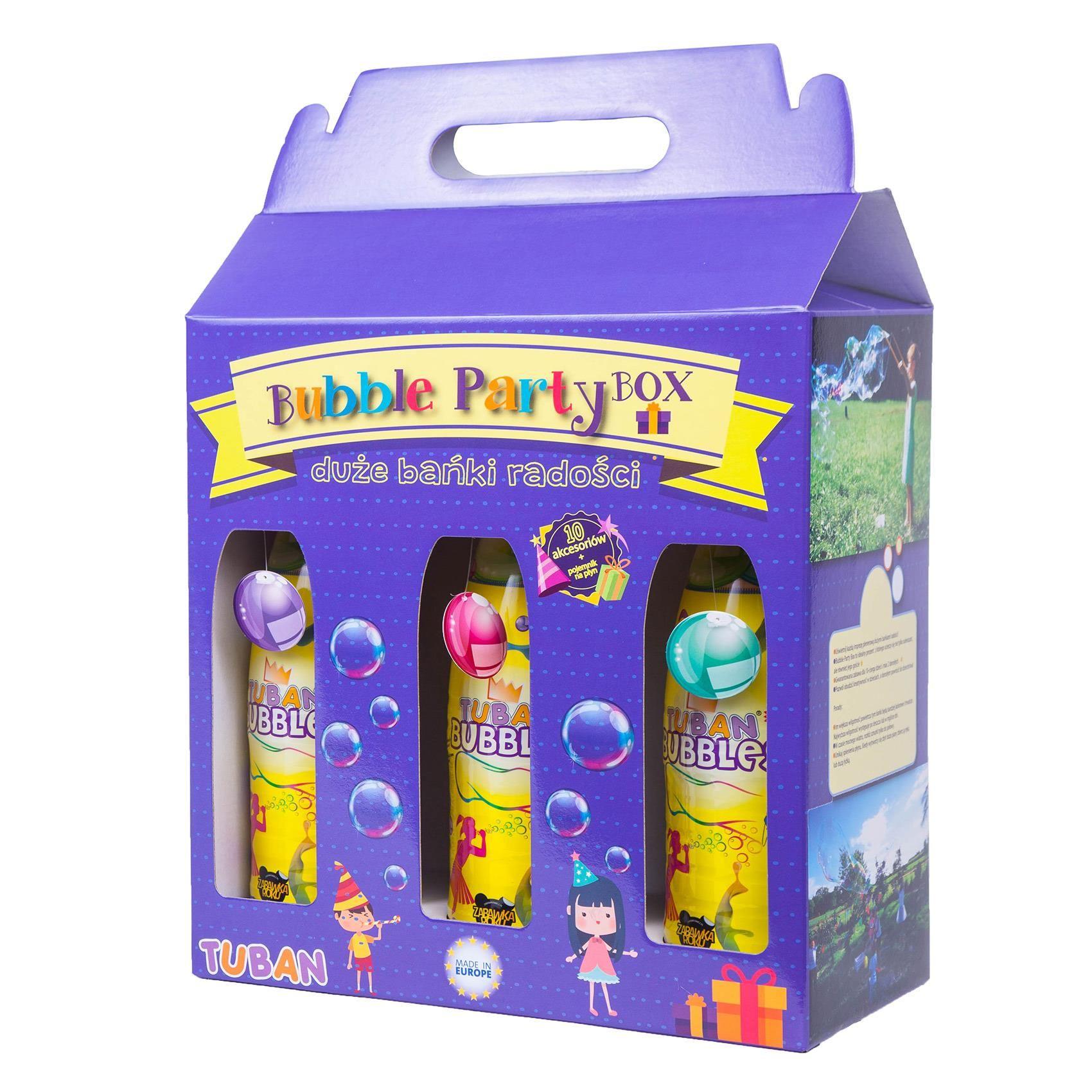 Zestawy Do Robienia Duzych Baniek Mydlanych Bubbles Tuban Box