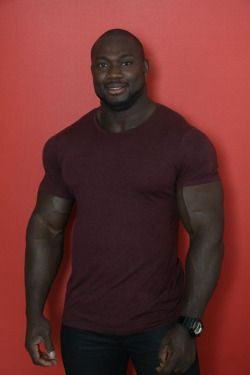 Beefy black muscle