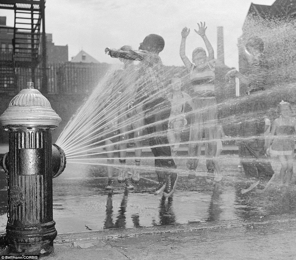 Cooling off with fire hydrants and diving into the Hudson