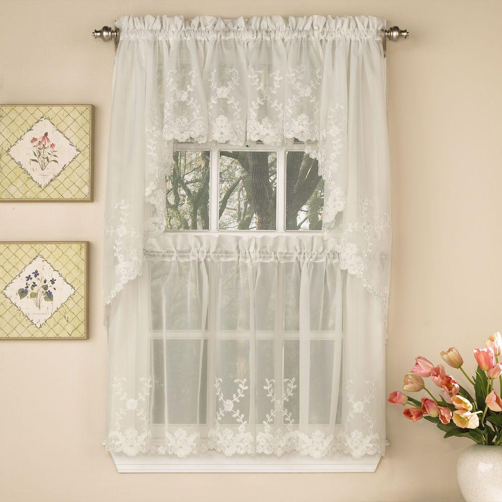 tiered window curtains realtagfo pinterest window
