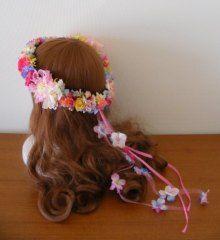 前撮り用に♪ 南国風のカラフル花冠☆ |Ordermade Wedding Flower Item MY FLOWER ♪ まゆこのブログ