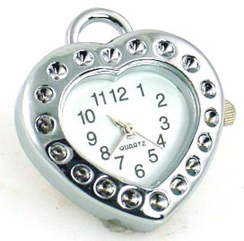 Buy platinum silver heart watchface watch face sb764 at mobile buy platinum silver heart watchface watch face sb764 at mobile boutique for only 400 aloadofball Choice Image