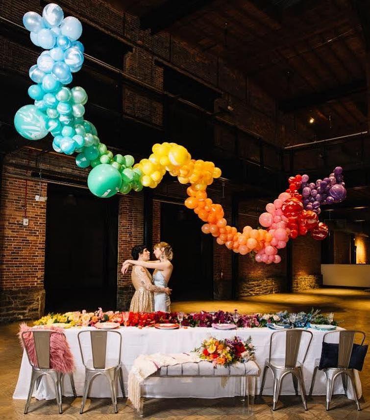 House Of Ollichon Loves Rainbow Wedding Decor Pride