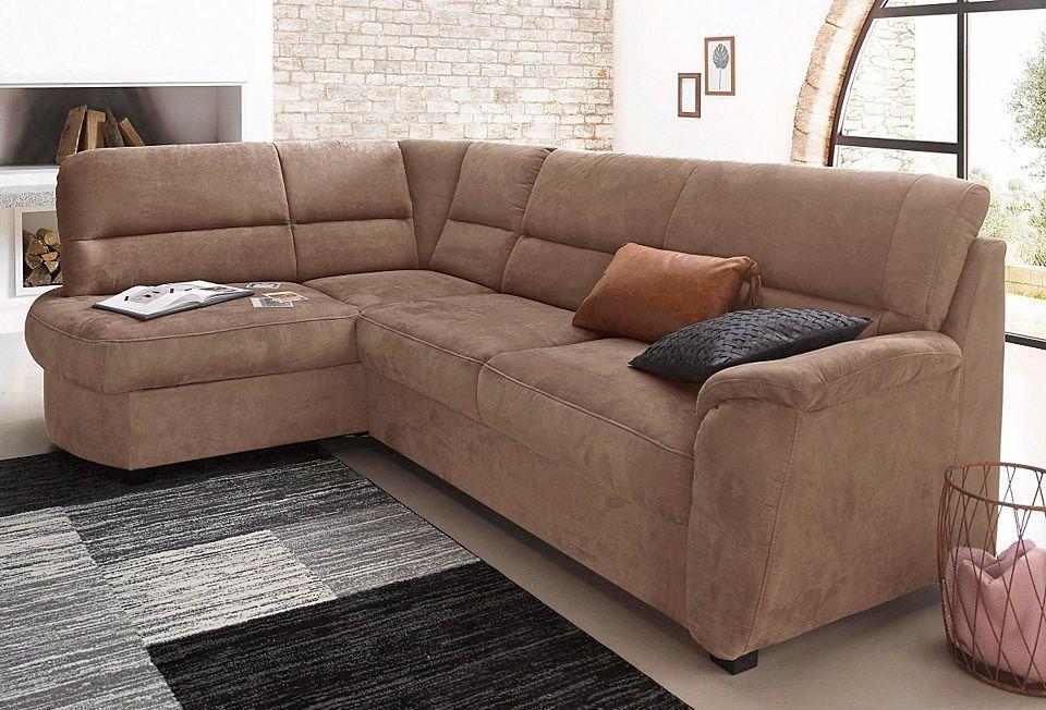 sit\more Polsterecke, wahlweise mit Bettfunktion und Bettkasten - wohnzimmer couch günstig