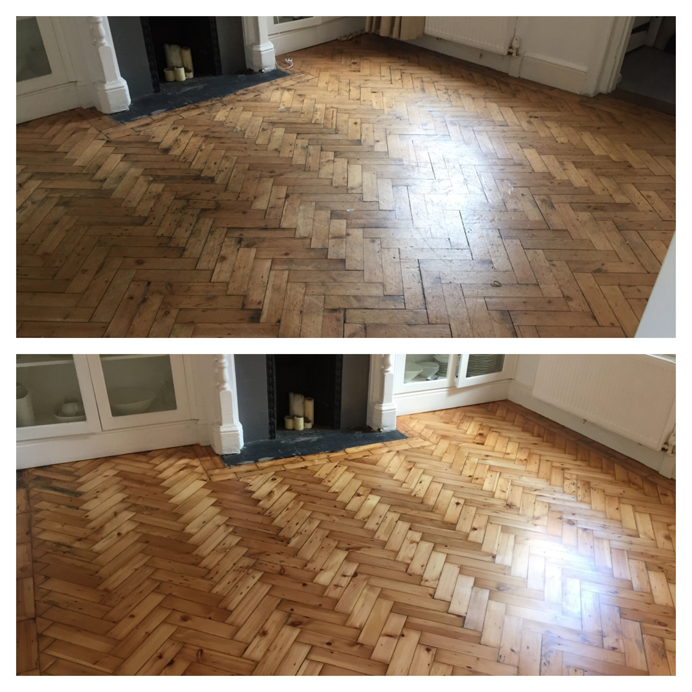 This Stunning Parquet Has Been Restored By Our Craftsman More Cost Effective Than A New Floor And Will Last A Li Wooden Flooring Flooring Engineered Wood Floors