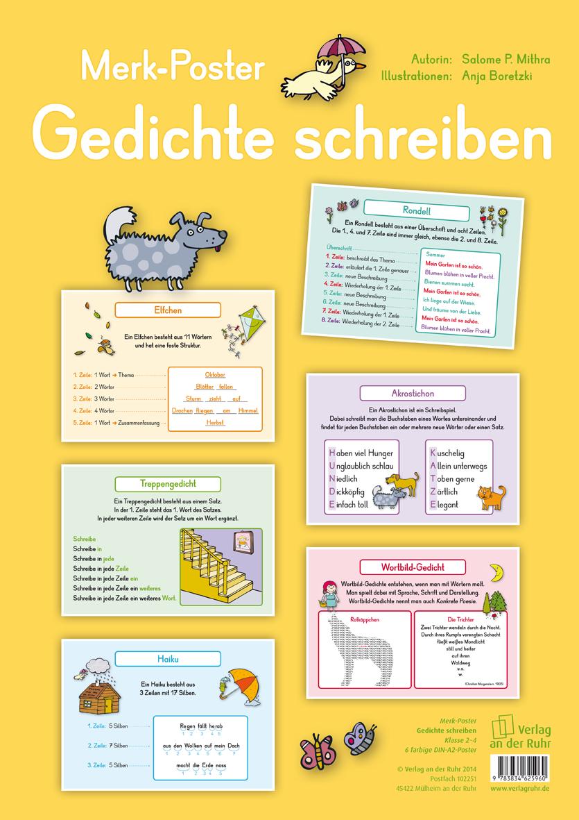 Gedichte Schreiben B2 Pinterest Deutsch Unterricht Gedichte