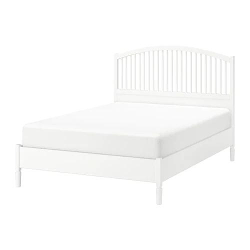 Ikea Tyssedal White Luroy Bed Frame Adjustable Beds Bed Frame