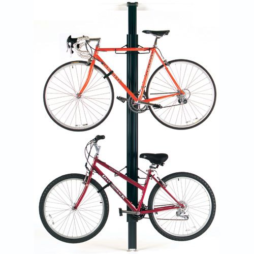 Sports Solutions Classic Floor To Ceiling Bike Rack Unsure If It Can Handle Step Through Type Ceiling Storage Rack Ceiling Storage Indoor Bike Storage