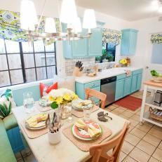 Just lovely and so cheery.   Dot House   Pinterest   Photo blue ...